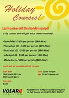 Holiday Courses for Students (10 to 14 years old)