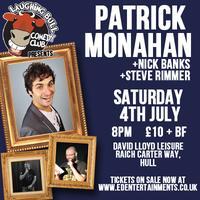 Patrick Monahan Live (with Jojo Georgiou & Steve...