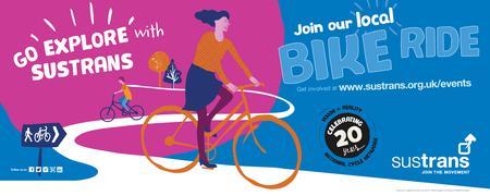 Go explore with Sustrans - Rides at Abingdon Cycle...