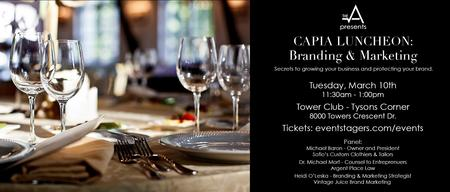 THE A CAPIA Luncheon - Branding & Marketing