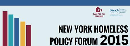 New York Homeless Policy Forum 2015