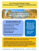 Good Morning Mission Hill Screening and Discussion