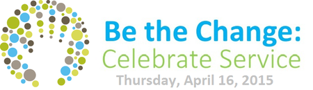 Be the Change: Celebrate Service 2015