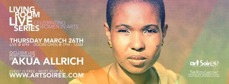 """LIVING ROOM LIVE """"Women in Arts"""" - Exclusive Concert..."""