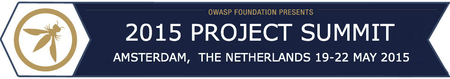 OWASP Project Summit EU 2015 - Amsterdam