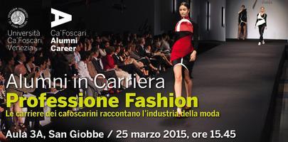 Alumni in Carriera - Professione Fashion