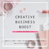 Talk: Creative Business Boost