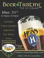 Taste for a Cause: Craft Beer Tasting Featuring Mike...