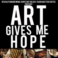ART GIVES ME HOPE - a pop up art show for suicide...