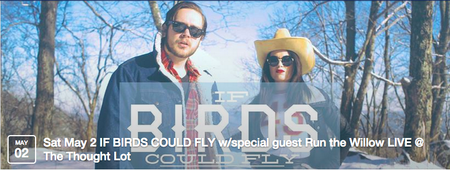 IF BIRDS COULD FLY w/special guest Run the Willow LIVE...