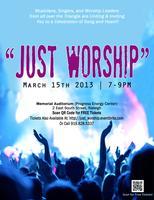 Just Worship - FREE concert
