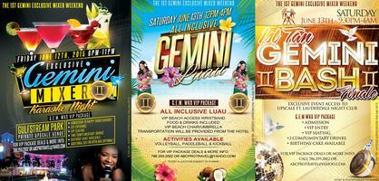 1st Gemini Exclusive Mixer (G.E.M.) WKD! (3 Days & 2...