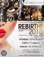 REBIRTH! 2015: Masquerade Benefit (Members)