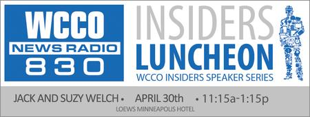 WCCO Radio Insider's Luncheon Featuring Jack and Suzy...
