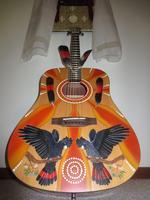 Xavier Rudd signed Spirit Bird Guitar Jamarri Raffle