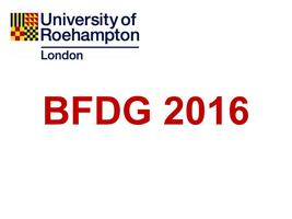 British Feeding and Drinking Group 2016 - 40th...