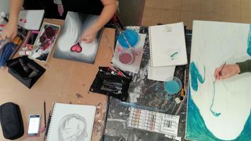 TEEN ART A Creative Art Class & Club (Just for Teens!)