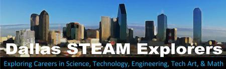 Dallas STEAM Explorers Meeting, April 6th, 2015