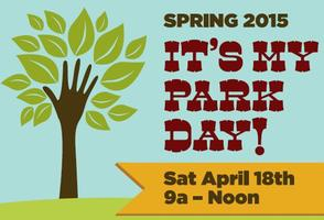 IT'S MY PARK DAY DALLAS! SPRING 2015