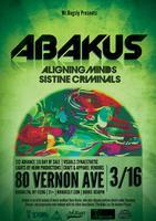 Abakus + Aligning Minds + Sistine Criminals