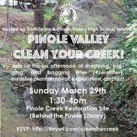 Clean your Creek with Pinole Valley H.S. EarthTeam