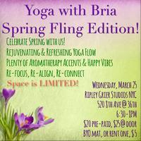 Spring Fling Yoga