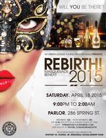 REBIRTH! 2015: Masquerade Benefit