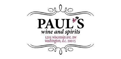 Paul's 31st Anniversary Wine & Spirits Tasting