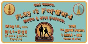 Play It Forward Music Fest - Ronstadt Generations /...
