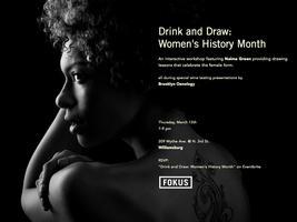 FOKUS presents Drink & Draw: Women's History Month