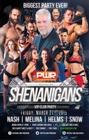 #Shenanigans San Jose - Kevin Nash Hall of Fame Party!