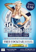 VAUGHANS TORQUAY 90s BOAT PARTY