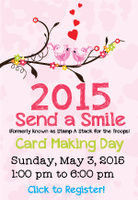 2015 Send A Smile Card Charity Event
