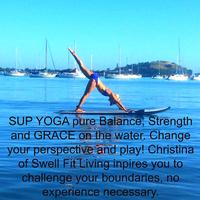 SUP YOGA with Swell FIT LIVING