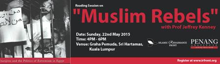 "Reading Session on ""Muslim Rebels""  With Professor..."