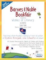Barnes & Noble Fundraiser Dyslexic Renegade Book...