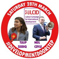Development Doorstep with Tulip Siddiq and Neil Coyle