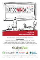 Wine and Dine for the ARTS -- April 11th 2015 ----...