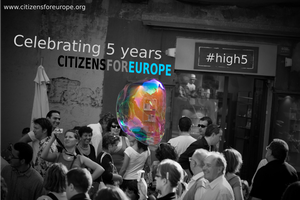 Citizens For Europe - 5 Years Summer Party - #high5