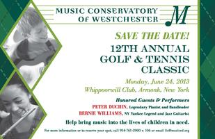 Music Conservatory's 12th Annual Golf & Tennis Classic