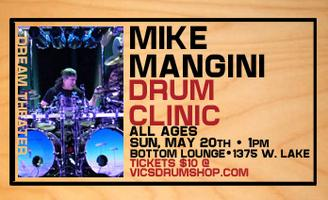 Mike Mangini Drum Clinic