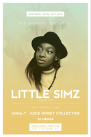 The Academy presents LITTLE SIMZ with JUNIA-T + Juice...
