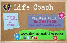 Christine Balmer Life Coach w/ Purple Hayze Alternative Shop logo
