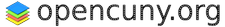 OpenCUNY at CUNY Graduate Center logo