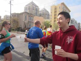Oakland Running Festival - Water Stop Volunteering...