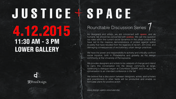 Diverse Design Roundtable: Justice + Space