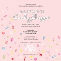 #alisonscandyshoppe DANCE PARTY