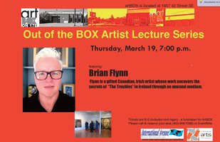 Out of the Box Artist Lecture Series featuring Brian Fl...