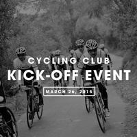 Cycling Club Kick-Off Event
