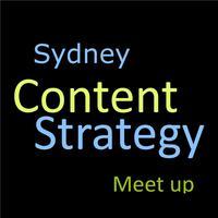 Sydney content strategy meet up - April 2014